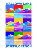 Wallowa Lake, Oregon - Pop Art Posters by  Lantern Press