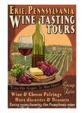 Erie, Pennsylvania - Wine Tasting Affiches par  Lantern Press
