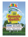 Pensacola Beach, Florida Posters by  Lantern Press