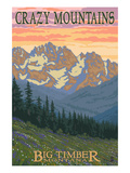 Big Timber, Montana - Spring Flowers Prints by  Lantern Press