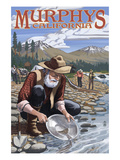 Gold Miners - Murphys, California Prints by  Lantern Press