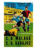 Futbol Promotion - Campo Del Vivero Poster par  Lantern Press
