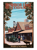 Mormon Lake Lodge, Arizona Prints by Lantern Press