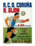 Futbol Promotion Art par Lantern Press