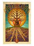 Guitar Tree Kunst van  Lantern Press