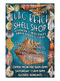 Long Beach, California - Shell Shop Posters by  Lantern Press