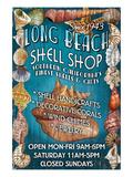 Long Beach, California - Shell Shop Posters by  Lantern Press