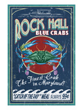Rock Hall, Maryland - Blue Crabs Posters by  Lantern Press