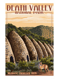 Charcoal Kilns - Death Valley National Park Posters by  Lantern Press