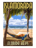 Islamorada, Florida Keys - Hammock Scene Prints by Lantern Press