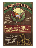 Oregon Outfitters - Pheasant Posters par Lantern Press