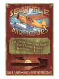 Seattle, Washington - Air Tours Posters by  Lantern Press