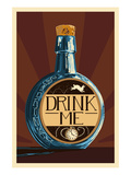 Drink Me Bottle Posters by  Lantern Press
