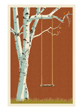 Birch Tree Prints by  Lantern Press