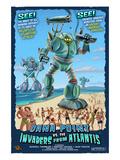 Dana Point, California - Atlantean Invaders Print by  Lantern Press