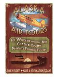 Air Tours - Alaska Prints by  Lantern Press