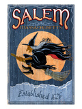 Salem, Massachusetts - Witch Posters by Lantern Press