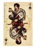 Las Vegas, Nevada - One Eyed Jack Prints by  Lantern Press