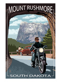 Mount Rushmore National Memorial, South Dakota - Tunnel Scene Prints by  Lantern Press