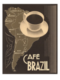 Cafe Brazil II Prints by Hugo Wild
