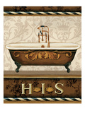 Bourgoisie Bath I Giclee Print by Lisa Audit