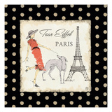 Ladies in Paris II Prints by Avery Tillmon