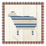 Americana Sheep Giclee Print by Sarah Adams