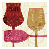 Colorful Wine I Giclee Print by Pela Studio