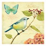 Garden Passion III Premium Giclee Print by Daphne Brissonnet