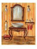 Tuscan Bath II Premium Giclee Print by Silvia Vassileva