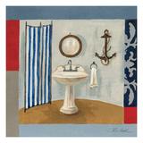 Nautical Bath I Art by Silvia Vassileva