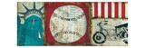 American Pop I Premium Giclee Print by Mo Mullan