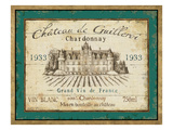 French Wine Label IV Premium Giclee Print by Daphne Brissonnet