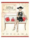 Wine Event IV Premium Giclee Print by Andrea Laliberte