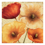 Poppy Spice III Giclee Print by Daphne Brissonnet