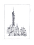 Empire State Premium Giclee Print by Avery Tillmon