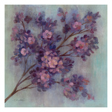 Twilight Cherry Blossoms I Giclee Print by Silvia Vassileva