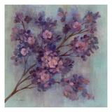 Twilight Cherry Blossoms I Premium Giclee Print by Silvia Vassileva