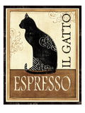 Il Gatto Premium Giclee Print by Veronique Charron