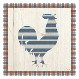 Americana Rooster Prints by Sarah Adams
