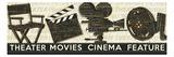 Cinema Premium Giclee Print by  Pela