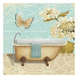 Light Breeze Bath II Premium Giclee Print by Daphne Brissonnet