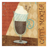 Jazzy Coffee II Giclee Print by Veronique Charron