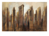 Flatiron Skyline Posters by Silvia Vassileva