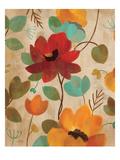 Vibrant Embroidery II Premium Giclee Print by Silvia Vassileva
