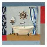 Nautical Bath II Posters by Silvia Vassileva