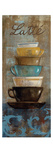 Antique Coffee Cups II Giclée-Premiumdruck von Silvia Vassileva