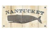 Nantucket Whale Giclee-tryk i høj kvalitet af Avery Tillmon