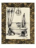 Elegant Bath II Premium Giclee Print by Silvia Vassileva
