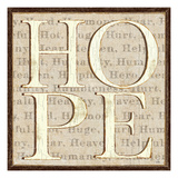 H is for Hope Premium Giclee Print by  Pela
